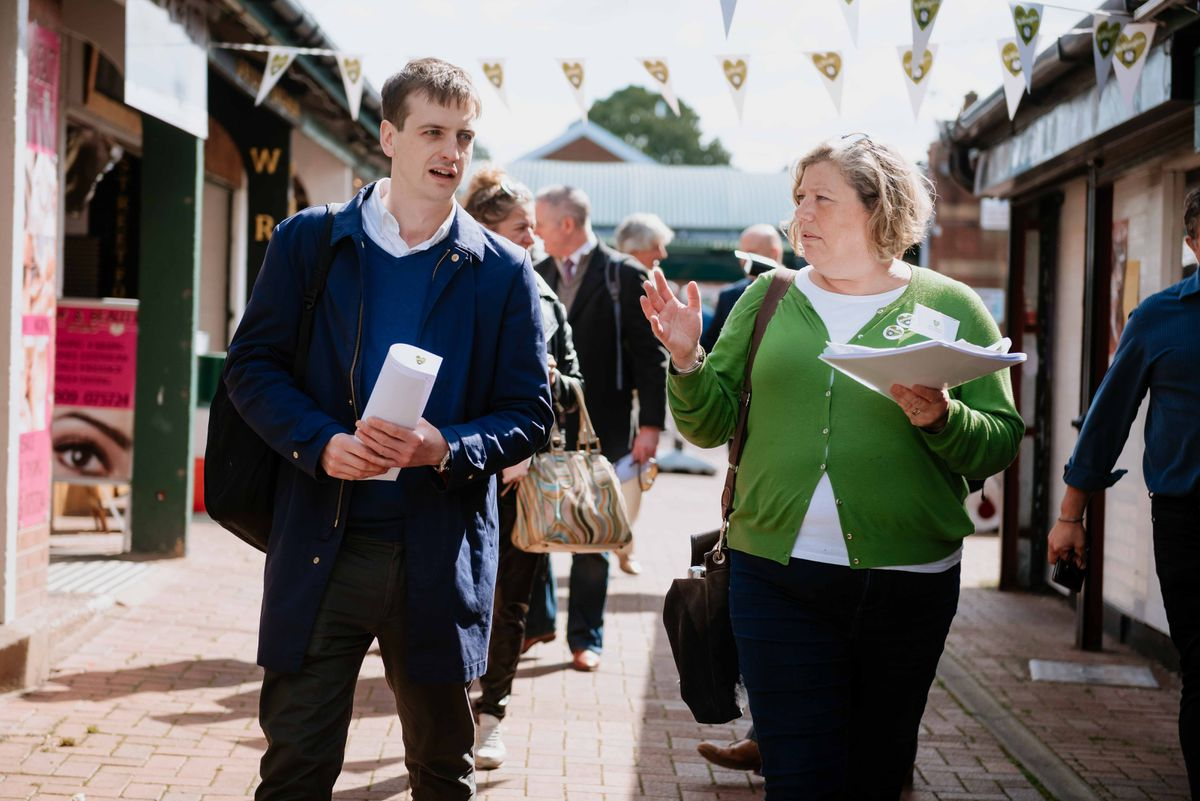 Judges came to various parts of Wellington as part of a Great British High Street visit
