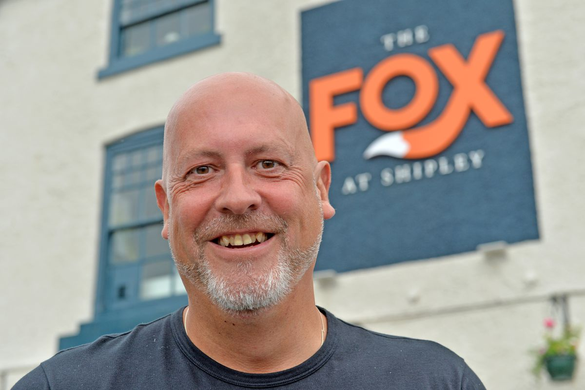 The Fox at Shipley, Bridgnorth Rd, Wolverhampton is reopening. Pictured, Neil Taylor