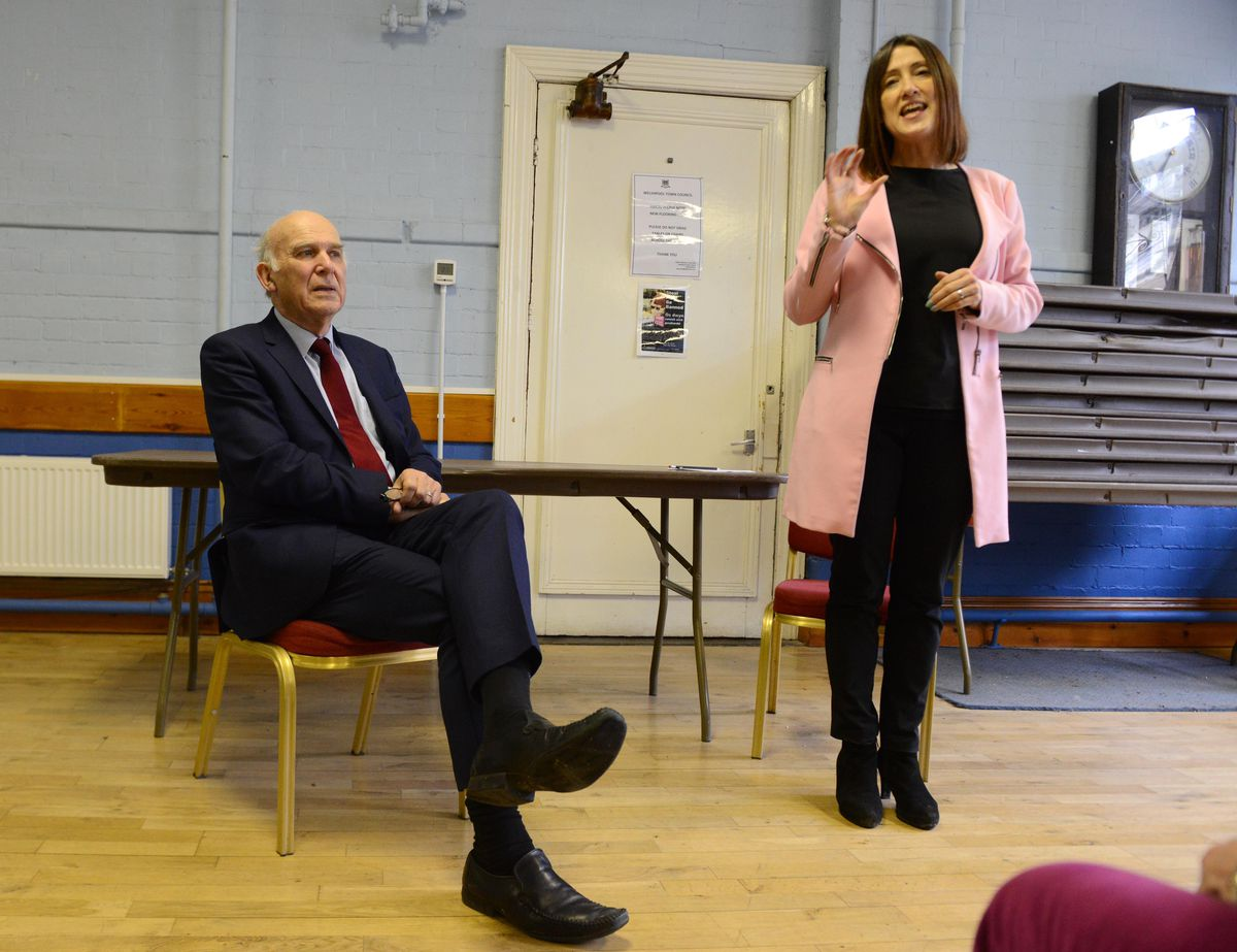 Mr Cable was introduced by Jane Dodds, leader of the Welsh Liberal Democrats