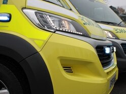 Lorry and car collide on M54