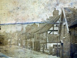 Exhibit A – Mr Sillitoe's battered copy of a Cheshire Street view which was used as evidence in a legal case