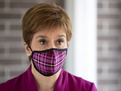 UK Government boycott of TV show 'pretty disgraceful', says Nicola Sturgeon