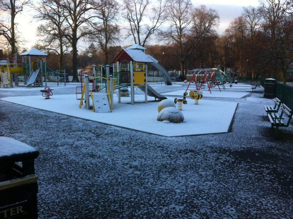 The children's play park at the Quarry in Shrewsbury. Picture by Shrewsbury Town Council