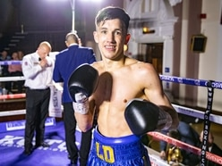 Liam Davies delivers knockout blow