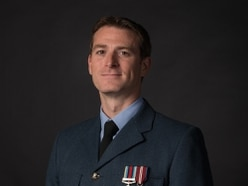 Charity pays tribute to squadron leader killed in crash from Telford