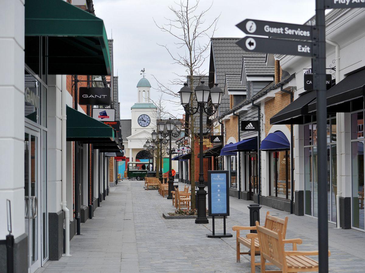 McArthurGlen Designer Outlet West Midlands is opening in Cannock on April 12