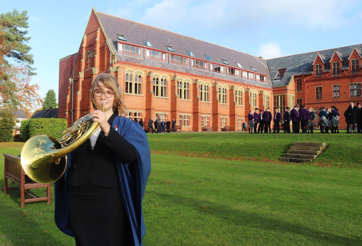 Amber Coxill is heading to Cambridge University