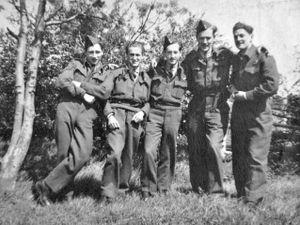 Van Morris' keepsake of a wartime bomber crew.