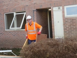 Work well under way to renovate doctors' houses at Telford hospital