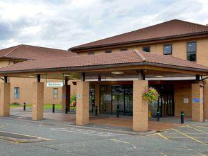 Princess Royal Hospital in Telford, where Christine Speake worked