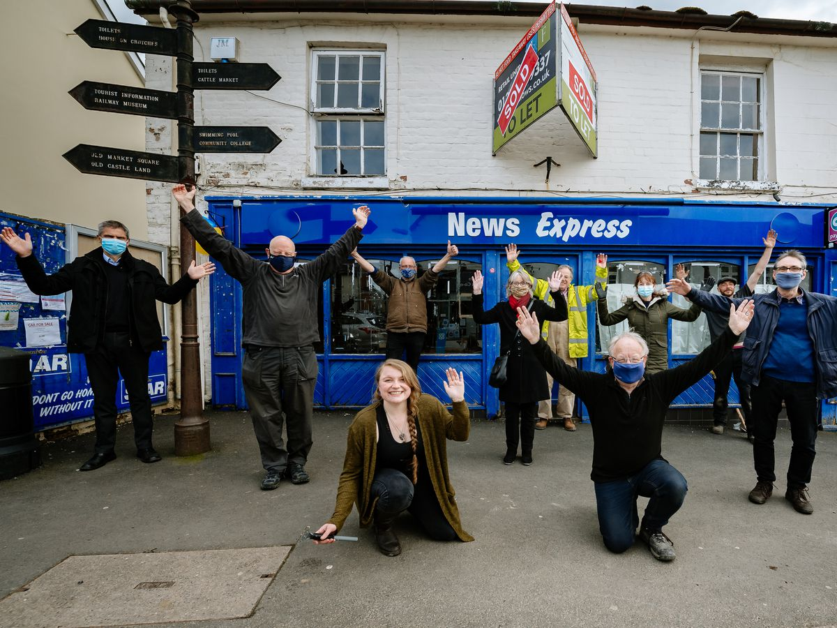 A group of Bishop's Castle organisations are hoping to transform the old News Express building into a Community Hub