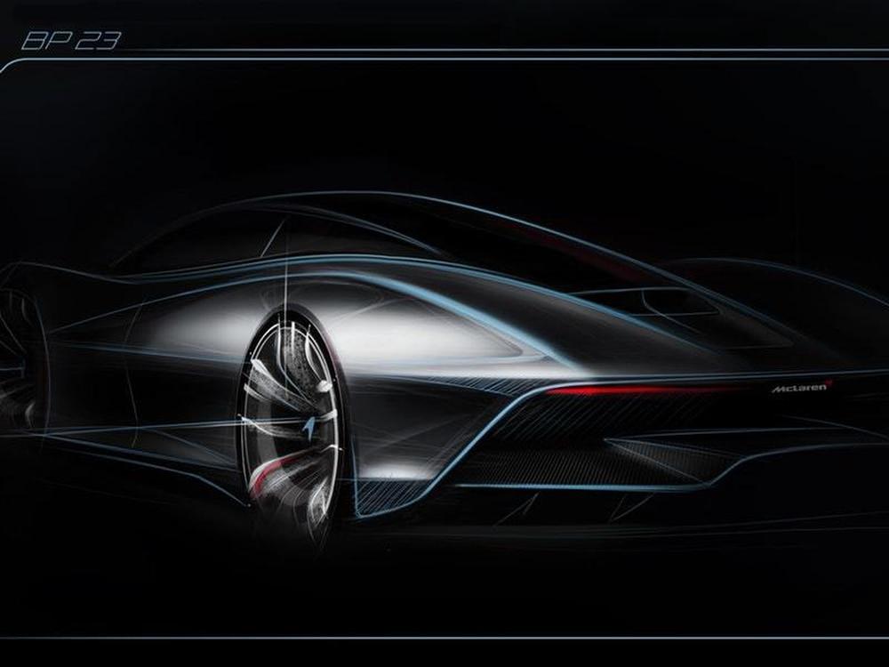 McLaren BP23 hybrid is a 243+ miles per hour 3-seat Hyper-GT