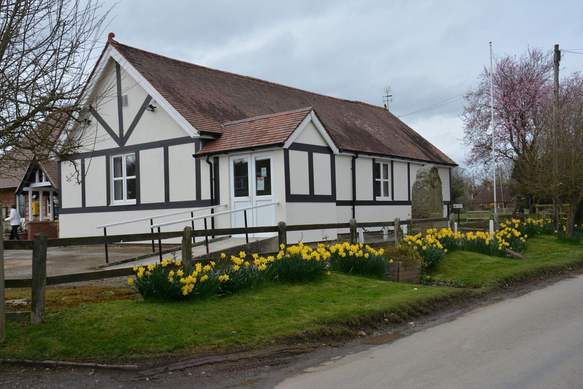 Many events are usually held at the Ashford Carbonel Village Hall
