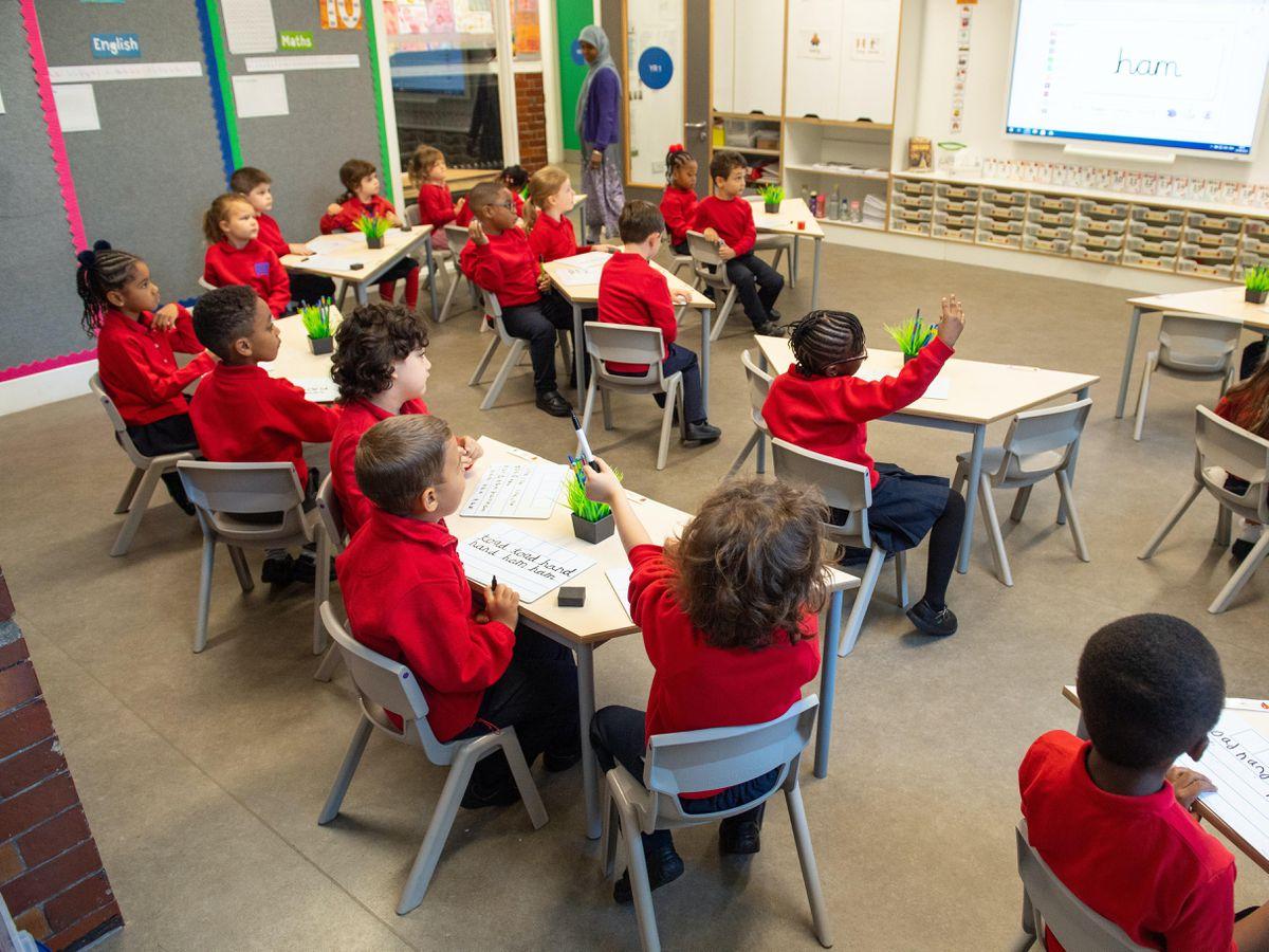 Schools go back in England