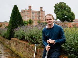 SHREWS COPYRIGHT SHROPSHIRE STAR JAMIE RICKETTS 27/08/2020 - A purpose built open air theatre has been built at Soulton Hall in Wem. *DUE TO WEATHER AND A BROKEN LEG, WE COULD NOT VISIT THE THEATRE*. In Picture: Tim Ashton..