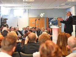 Jeremy Corbyn in Telford: 'We'll keep both Shropshire A&Es' - with video and pictures