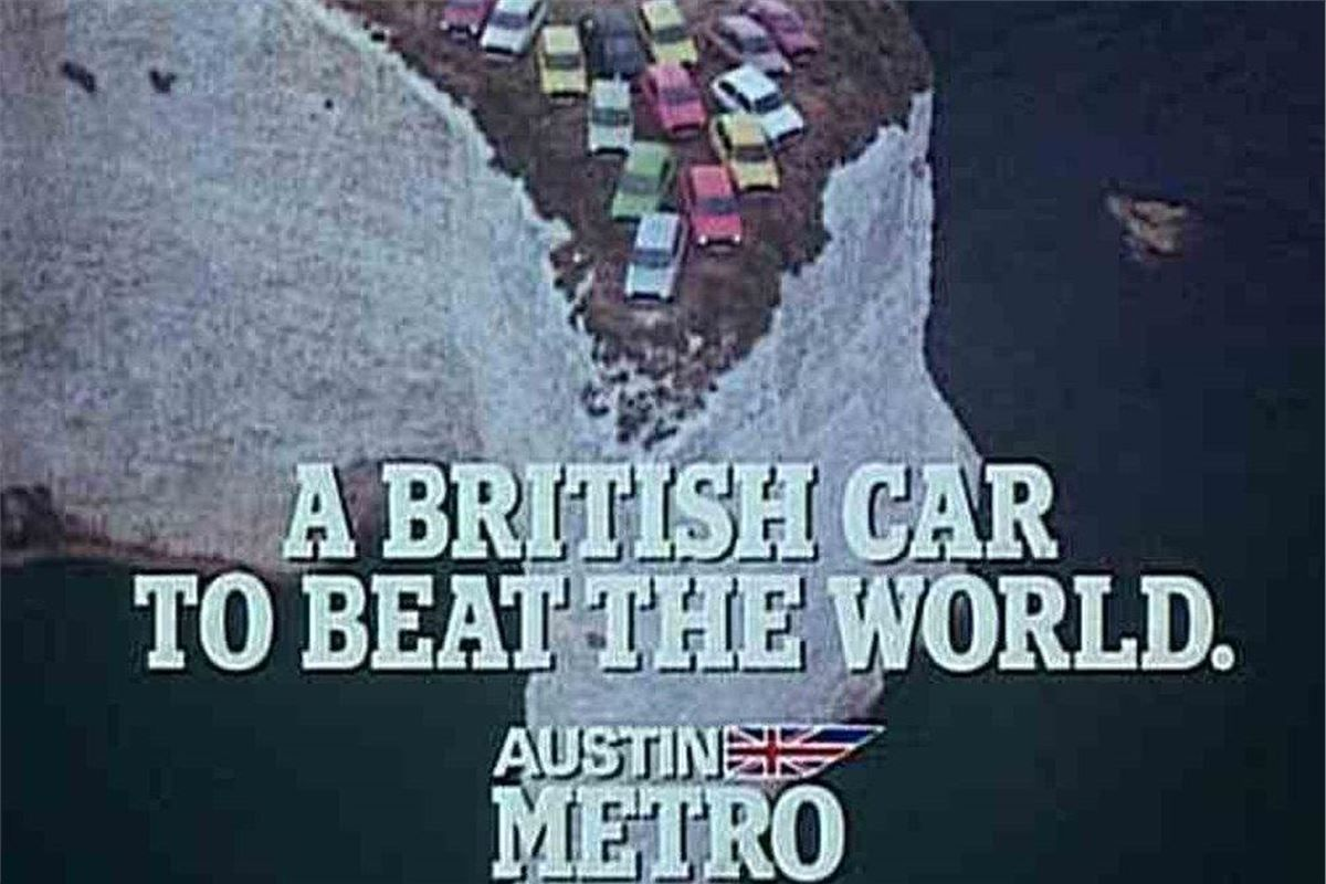 The unashamedly patriotic television advert for the new Metro