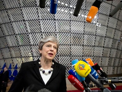 May seeks 'new dynamic' in talks on future relationship with Europe