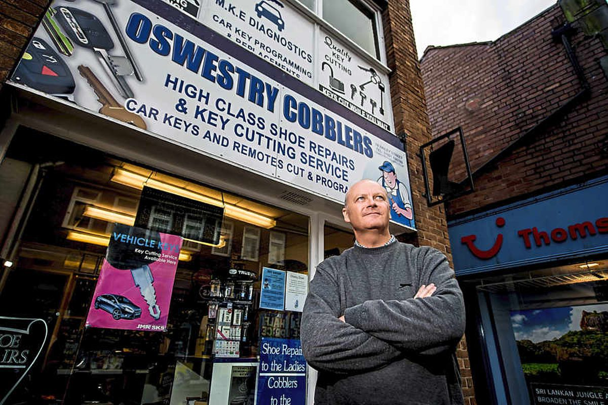 Oswestry cobbler Michael to step down as  'throwaway society' sees trade fall