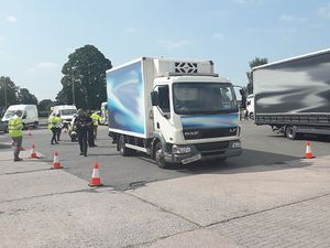 Police carried out the operation in Whitchurch