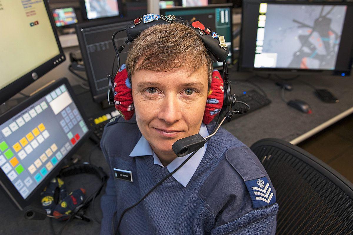 RAF Warrant Officer Louise Simpson