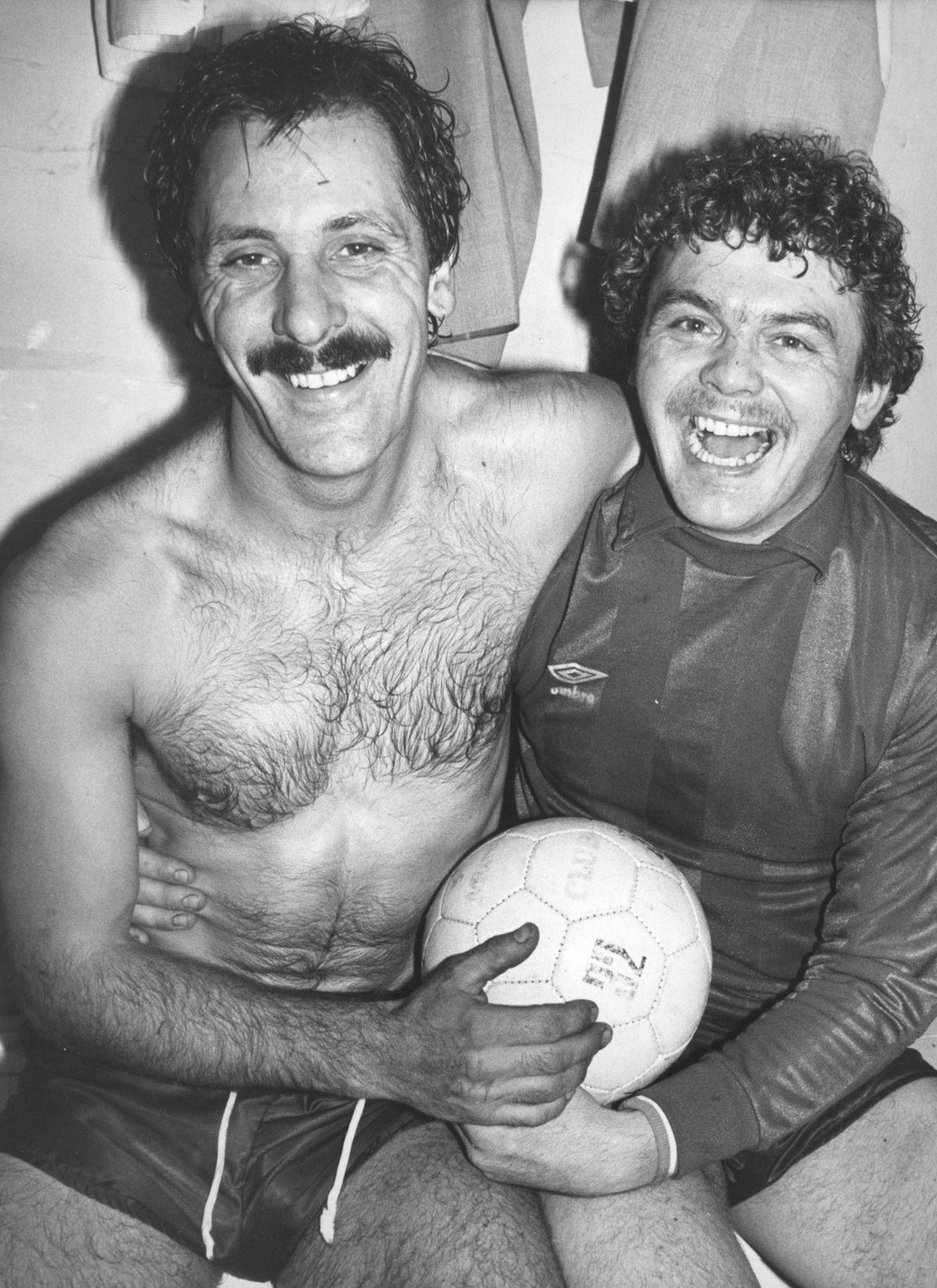 Tony Turner & Kevin Charlton Telford United