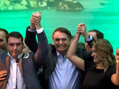 Far-right candidate enters fray in Brazil's presidential election