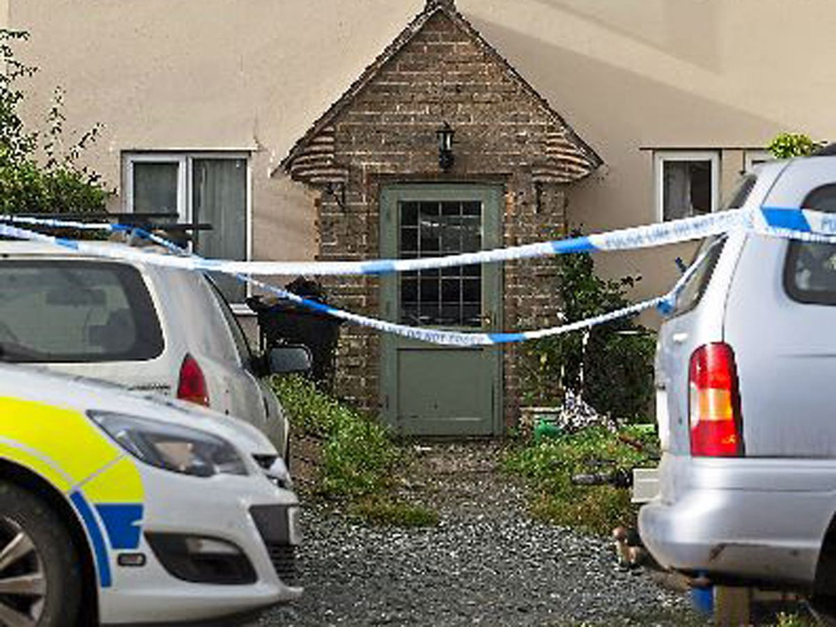 The house where Archie Spriggs was found dead