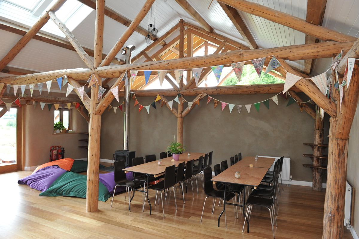 The bunkhouse is aimed at groups like brownies or scouts or could be a wedding venue