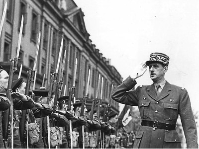 Charles de Gaulle's wartime links to Shropshire revealed
