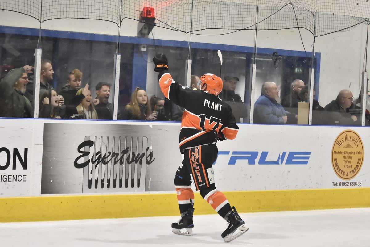 Ricky Plant celebrates (Photo: Steve Brodie)