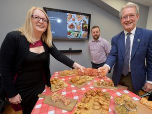 MP Owen Paterson visited Palethorpes where he was met by Neil Parry (General Manager) and Leanne Massey (HR Manager)