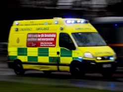 Three hurt in two-car Telford crash
