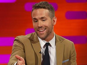 Deadpool star Ryan Reynolds who has bought Wrexham AFC with Rob McElhenney.