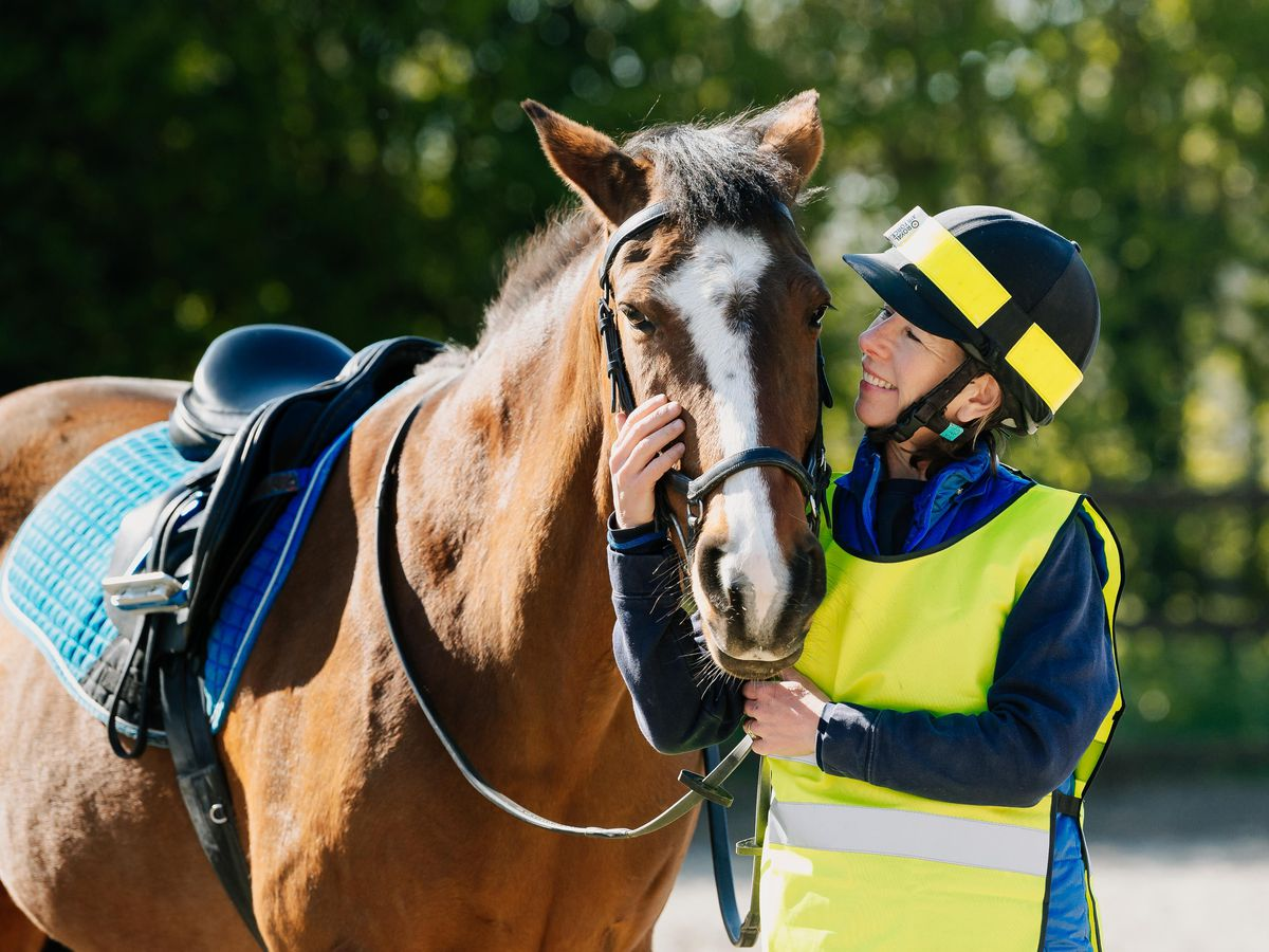 Faith Page and her horse, Marley, will be riding the length of Shropshire