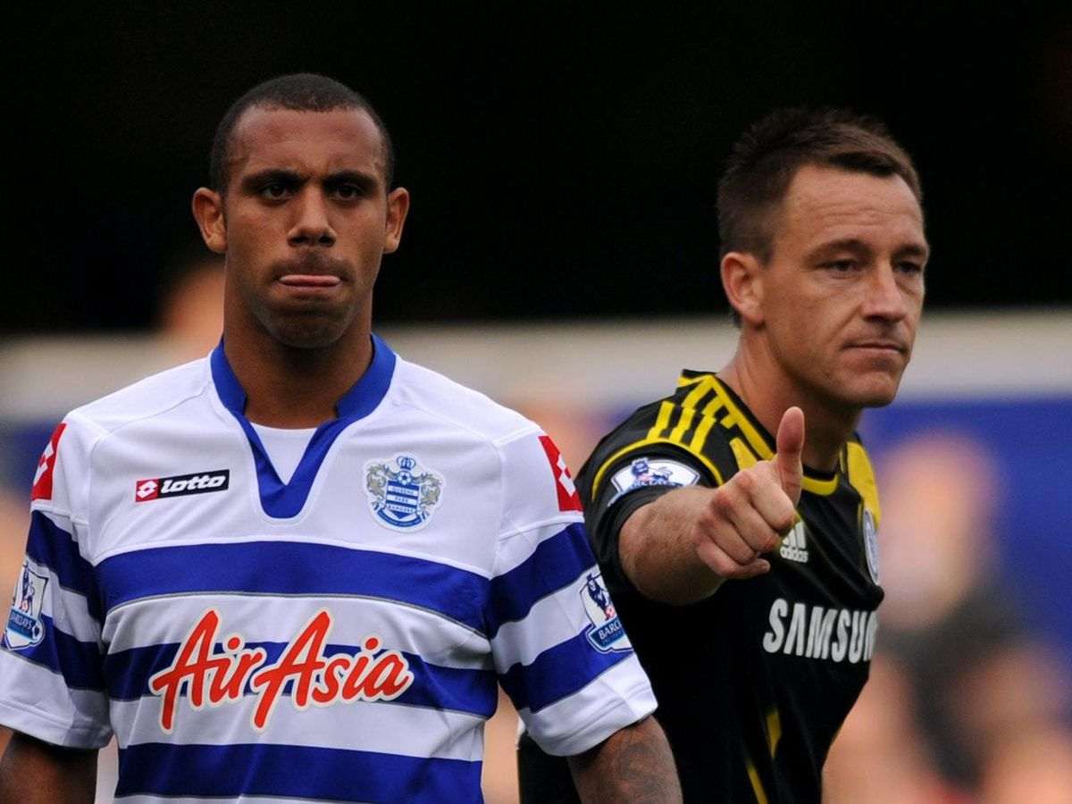 Anton Ferdinand, left, says he was treated differently to John Terry by FA investigators
