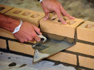 A bricklayer
