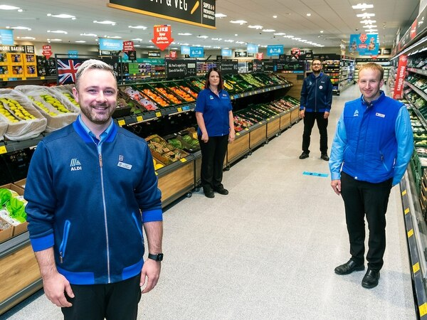 Market Drayton's first Aldi opens for business