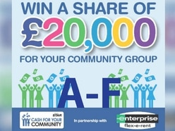 Cash For Your Community shortlist - A-F