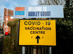Audley Court, home of Combat Stress in Newport, is now up and running as Newport's vaccination centre