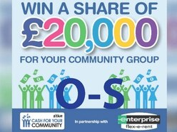 Cash For Your Community shortlist - O-S