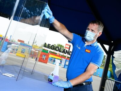 Legoland 'relying' on visitors to follow new hygiene rules