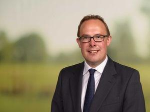 Shropshire Star farming column columnist Rhydian Scurlock-Jones, head of rural at Savills in Shropshire.