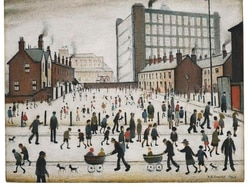 Lowry painting owned by British DNA scientist sells for £2.6 million
