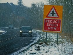Easter weekend weather: Snow and sleet showers spark yellow warning