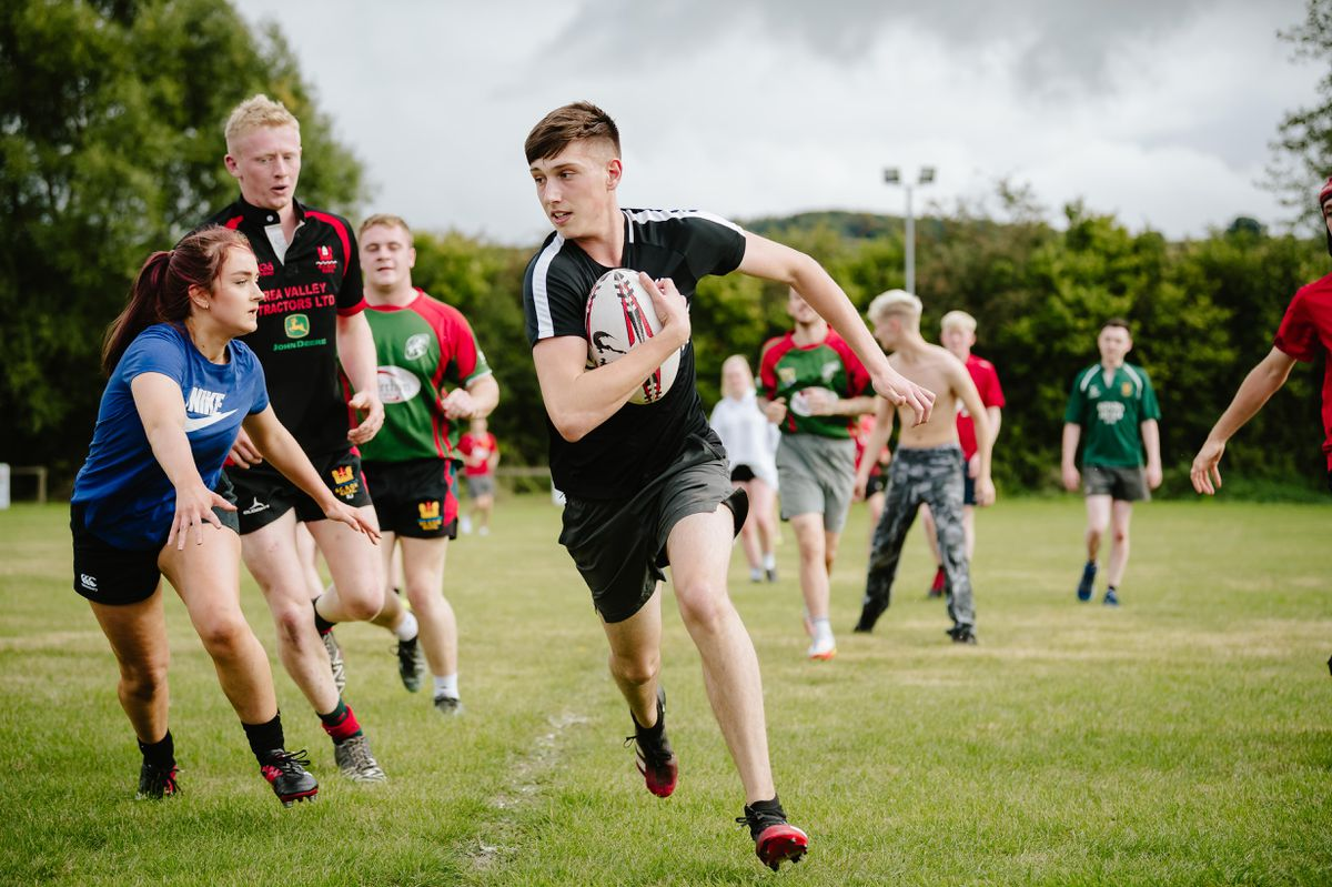 Dylan Price's memory was honoured with a fundraiser at Bishop's Castle & Onny Valley Rugby Club
