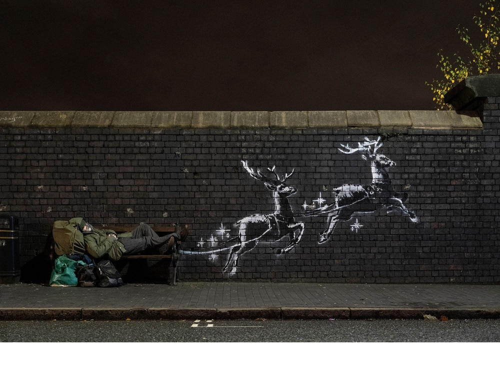 Banksy artwork in Birmingham preserved following vandalism
