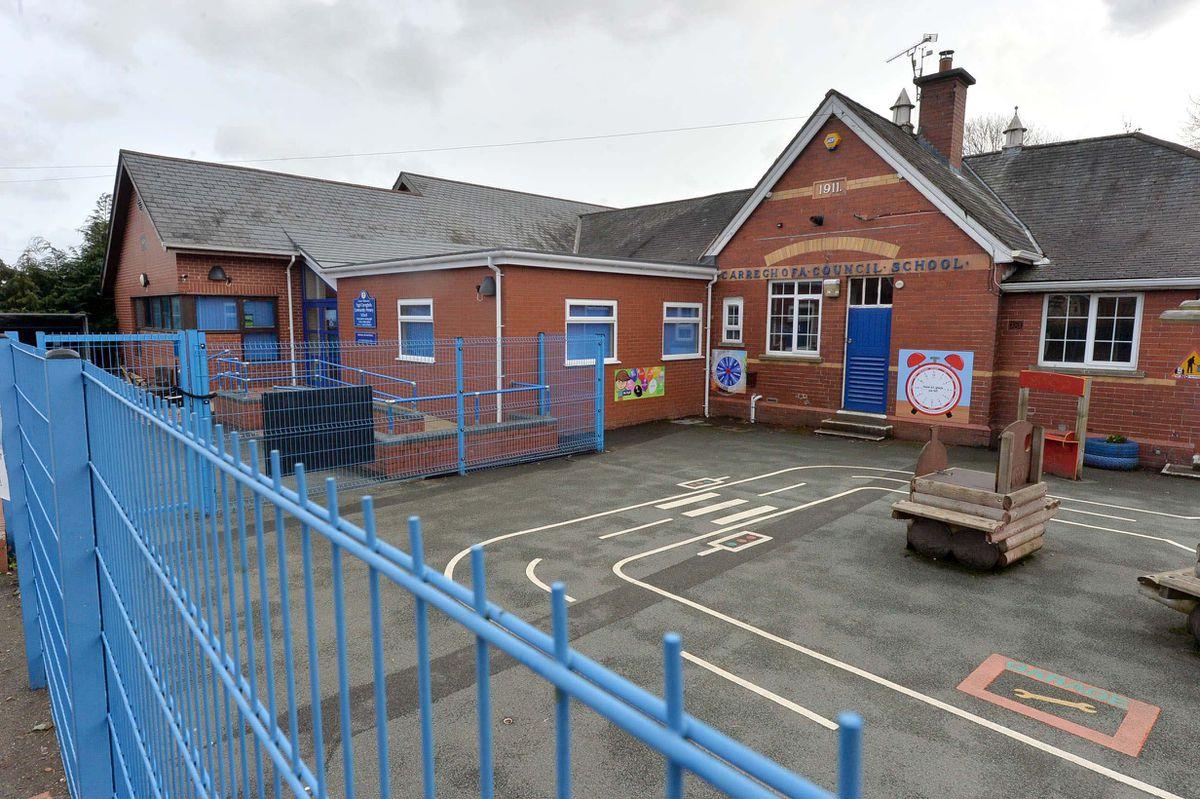 Carreghofa School in Llanymynech