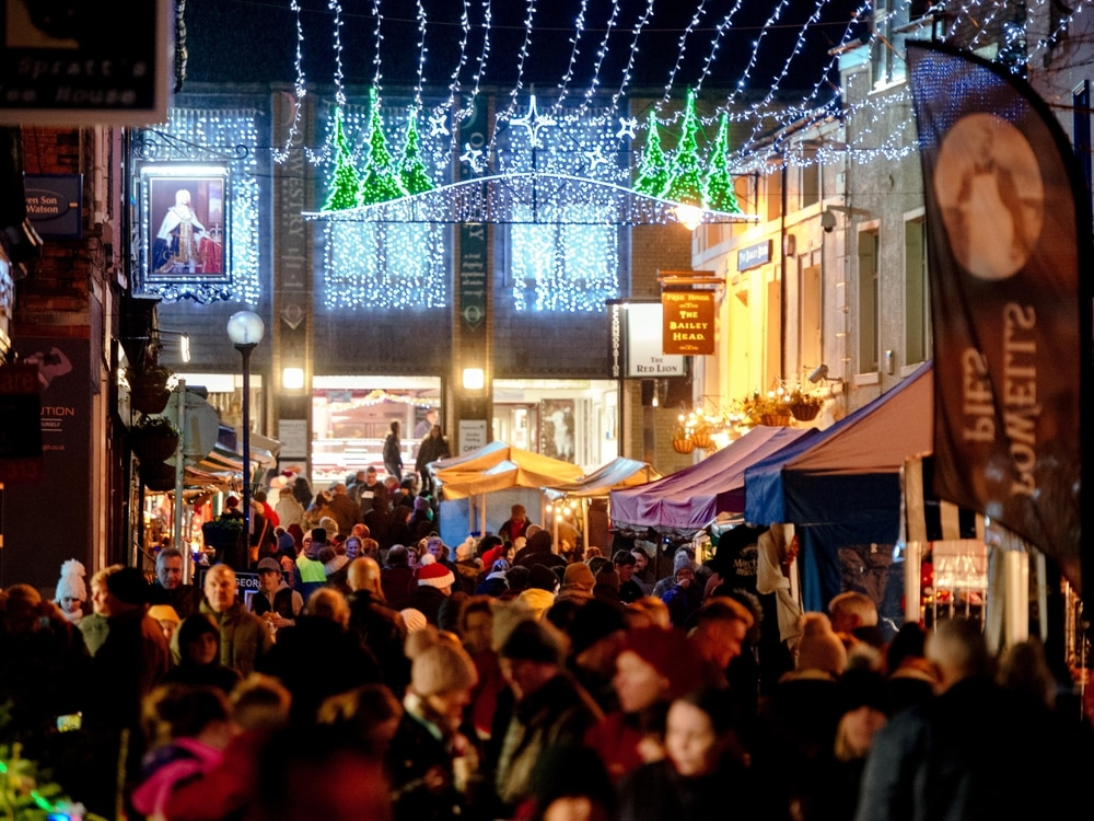 Two Christmas events in Oswestry this weekend