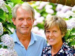 Owen and Rose Paterson pictured at their home in north Shropshire